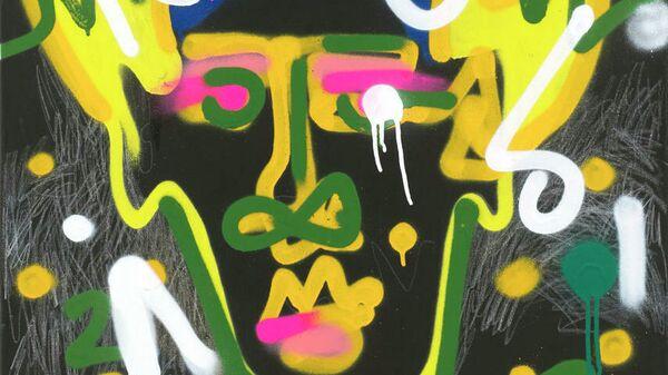 Александра Мельникова. Icon Ba (Любовь) из серии Faces (Головы), 2019, лот аукциона Vladey