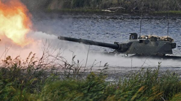 Авиадесантная самоходная противотанковая пушка Спрут-СД