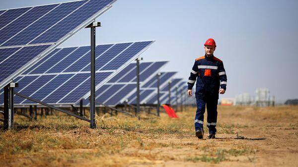 Солнечная электростанция в Волгограде