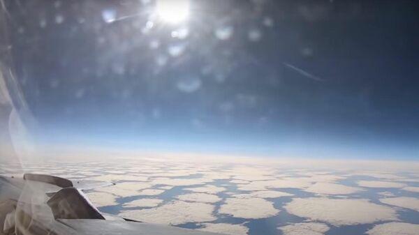 Полеты истребителей МиГ-31 в стратосфере