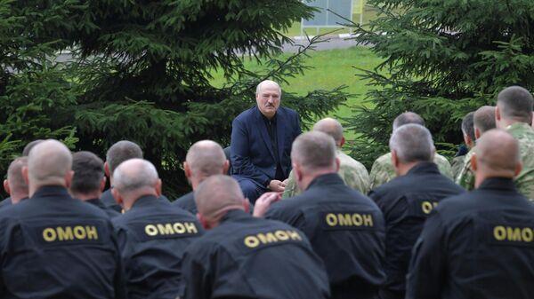 Президент Белоруссии Александр Лукашенко в Минске
