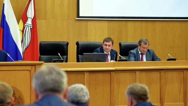 Заседание Областной Думы Воронежской области