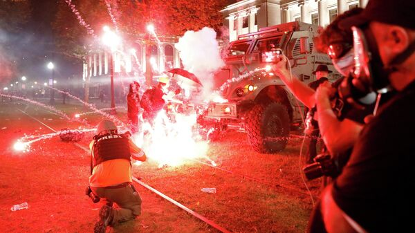 Беспорядки в городе Кеноша, штат Висконсин
