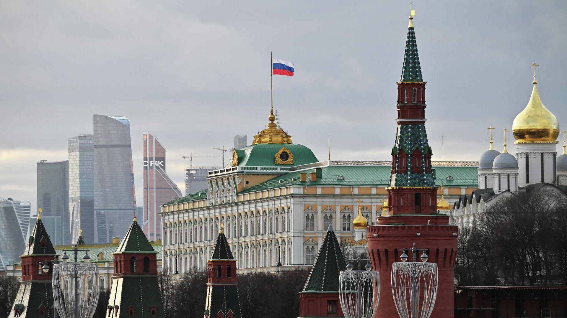 Московский Кремль - РИА Новости, 1920, 17.10.2020
