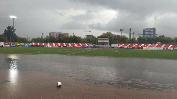 Футбольное поле в академии имени Федора Черенкова