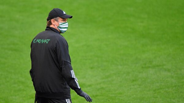 Главный тренер Ахмата Андрей Талалаев