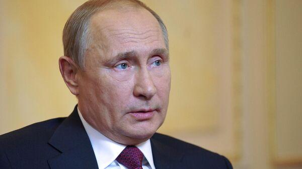 LIVE: Большое интервью Владимира Путина