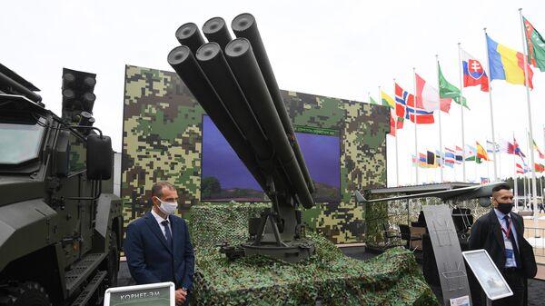 Противотанковый ракетный комплекс Гермес