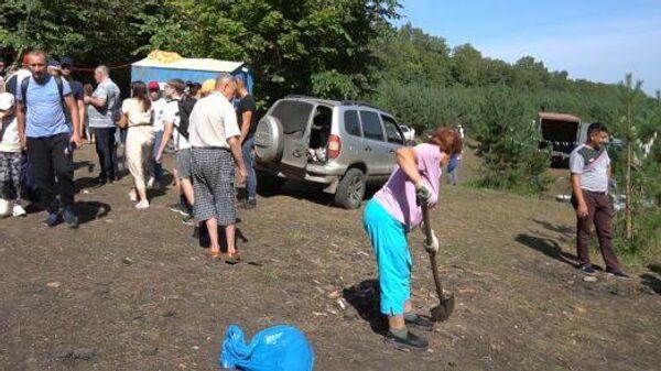 Субботник на Куштау: активисты очистили шихан от мусора после протестов
