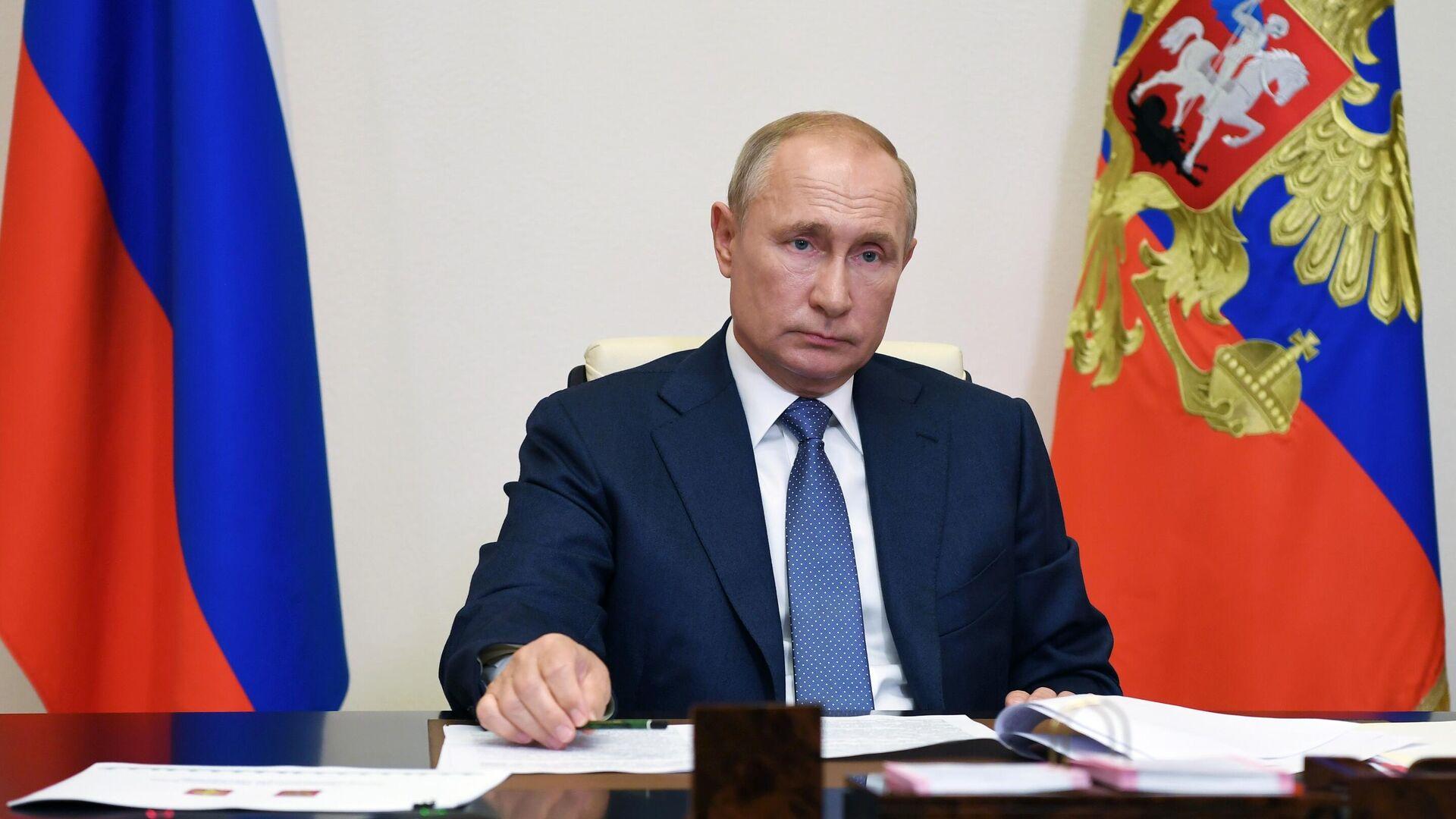 Президент РФ Владимир Путин - РИА Новости, 1920, 01.09.2020