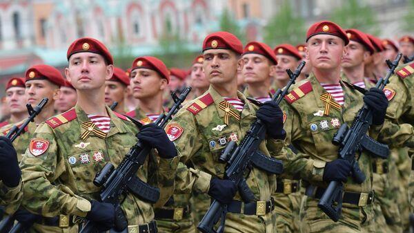 Военнослужащие войск Национальной гвардии РФ
