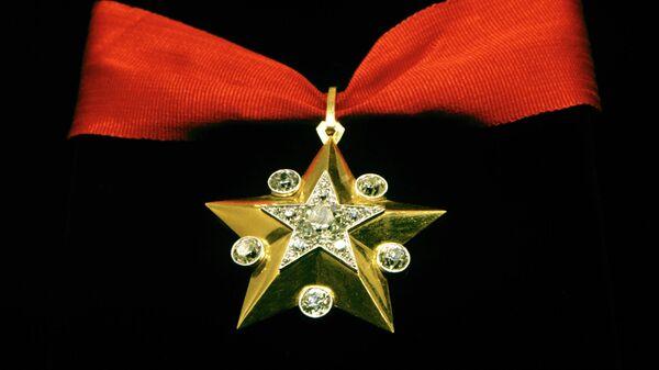 Маршальская звезда из Алмазного фонда России - ювелирное изделие советского производства.