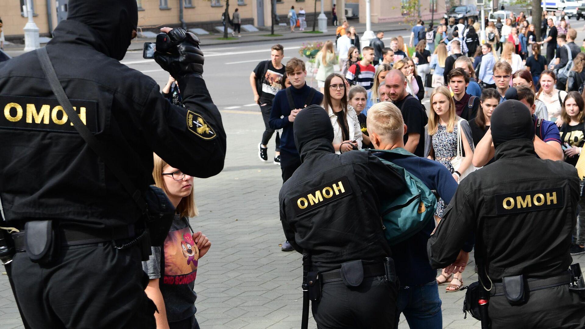 За нарушение законодательства о массовых мероприятиях 3 сентября задержаны 26 граждан.