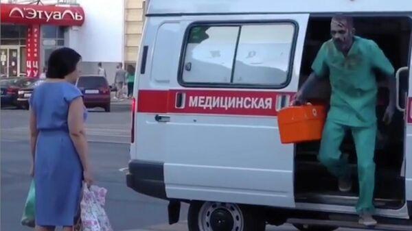 Стоп-кадр видео из Instagram-аккаунта Ивана Сычева