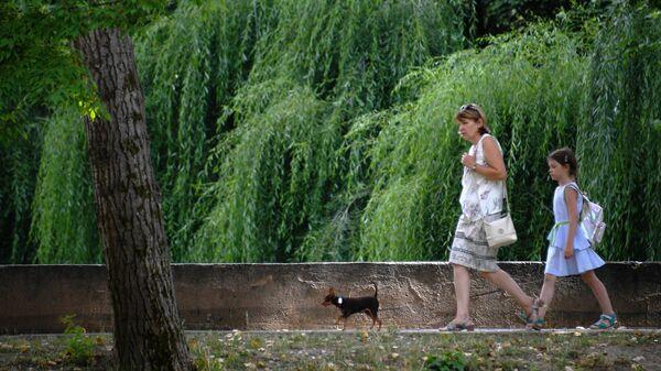В Москве открылись сады здоровья