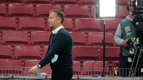 Главный тренер сборной Дании по футболу Каспер Хьюлманд