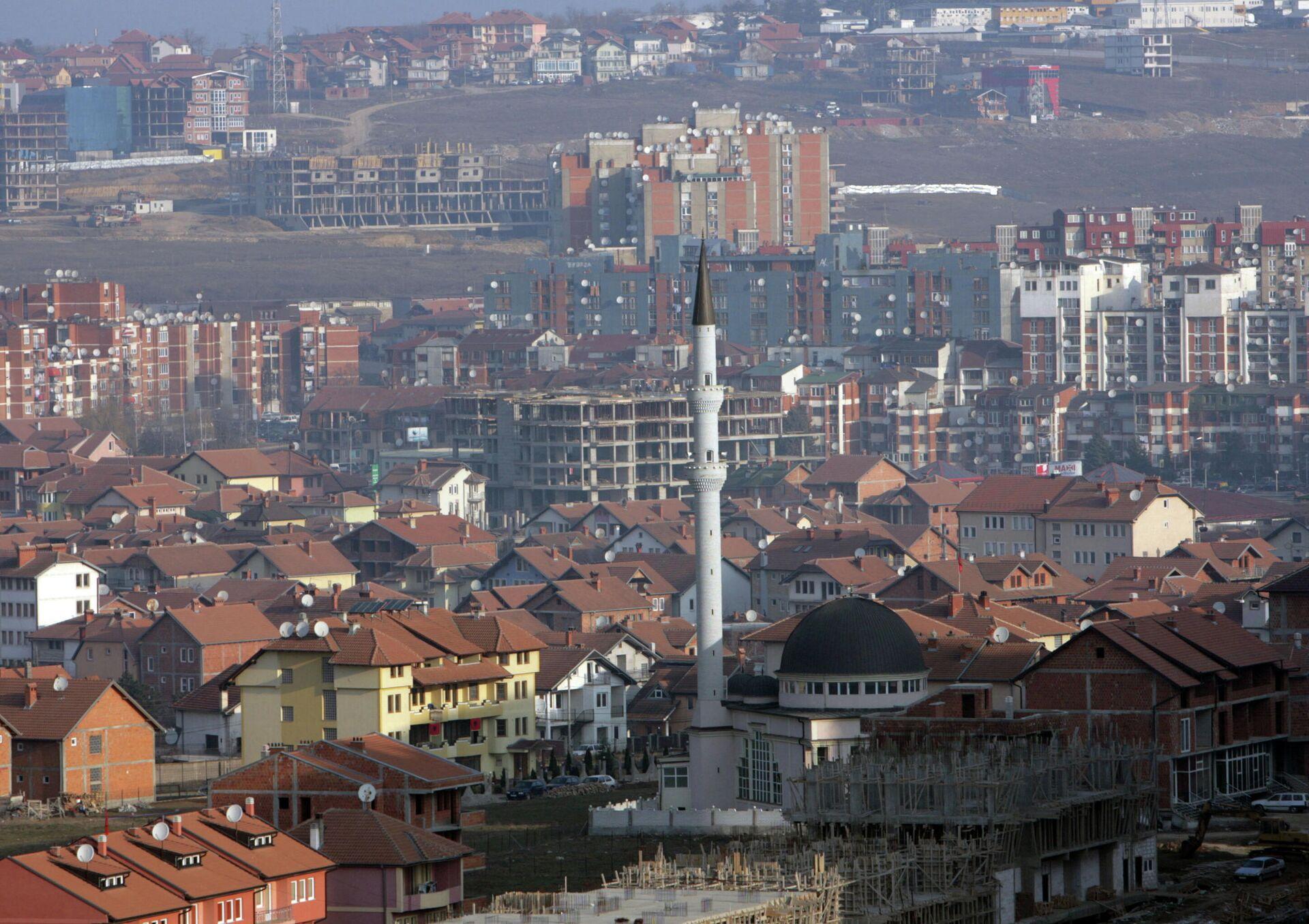 Вид города Приштина - РИА Новости, 1920, 05.03.2021