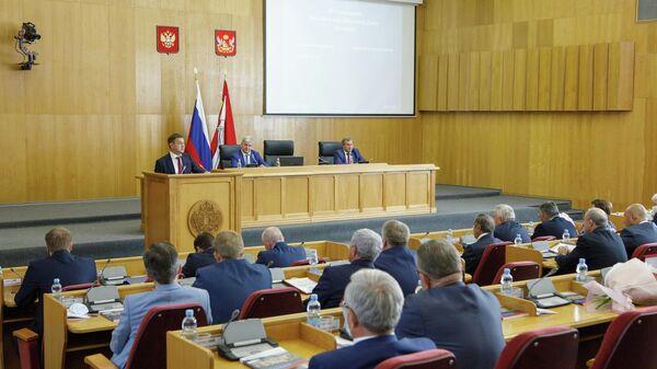 60-е заседание Воронежской областной думы