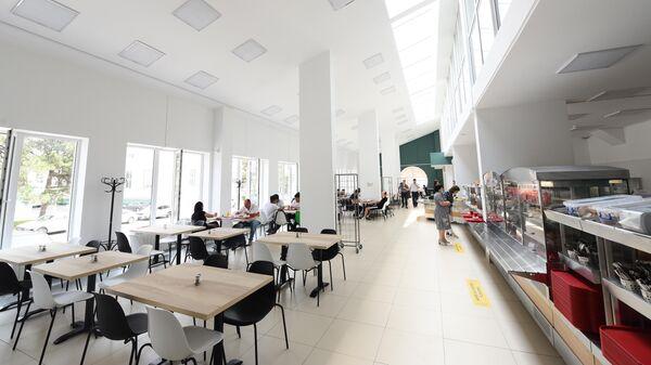 В новом общежитии ДГТУ расположена столовая на 150 мест