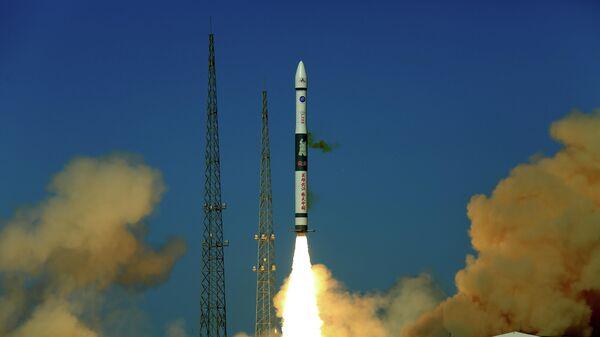 Пуск китайской ракеты-носителя Куайчжоу-1А