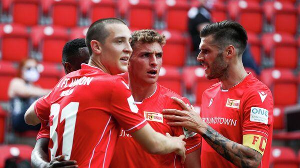 Футболисты берлинского Униона