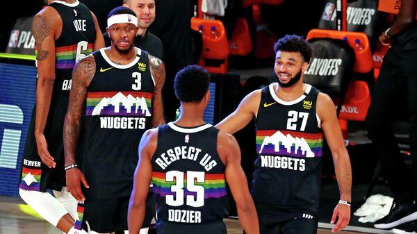 Баскетболисты Денвер Наггетс