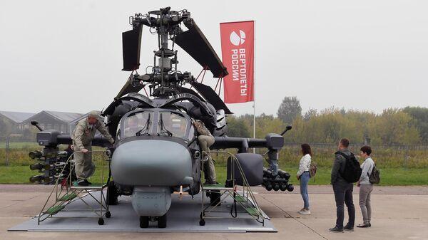 Российский вертолет К-52К