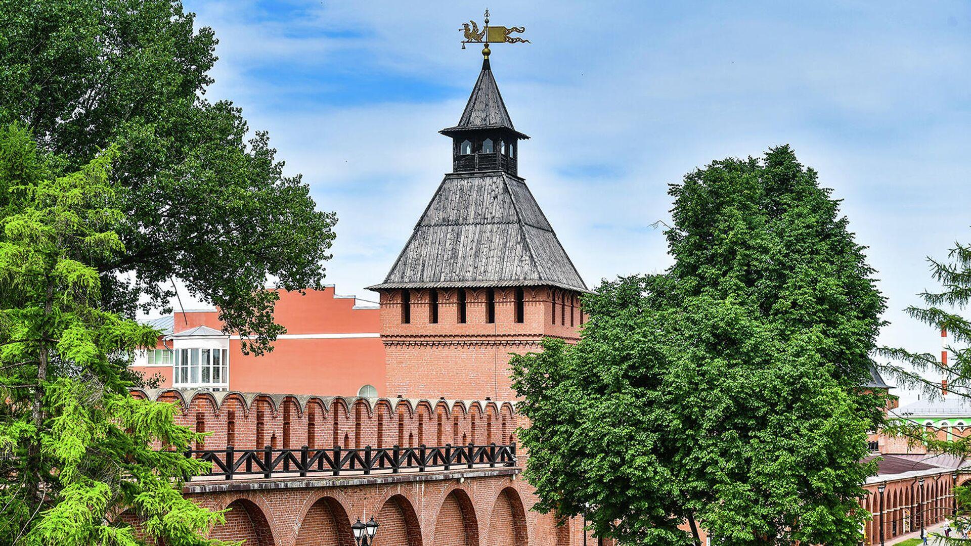 Башня Пятницких ворот Тульского кремля - РИА Новости, 1920, 18.09.2020