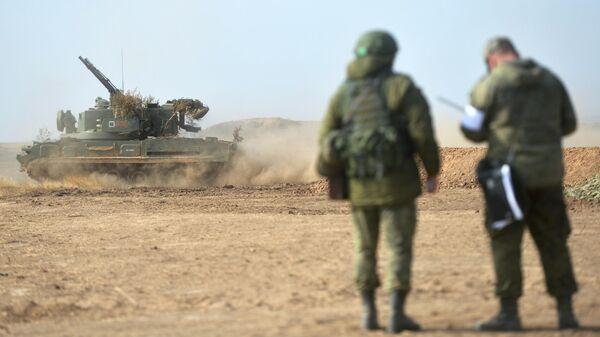 Зенитный пушечно-ракетный комплекс (ЗПРК) 2С6М1 Тунгуска-М1