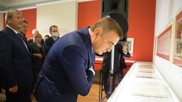 Губернатор Тульской области Алексей Дюмин