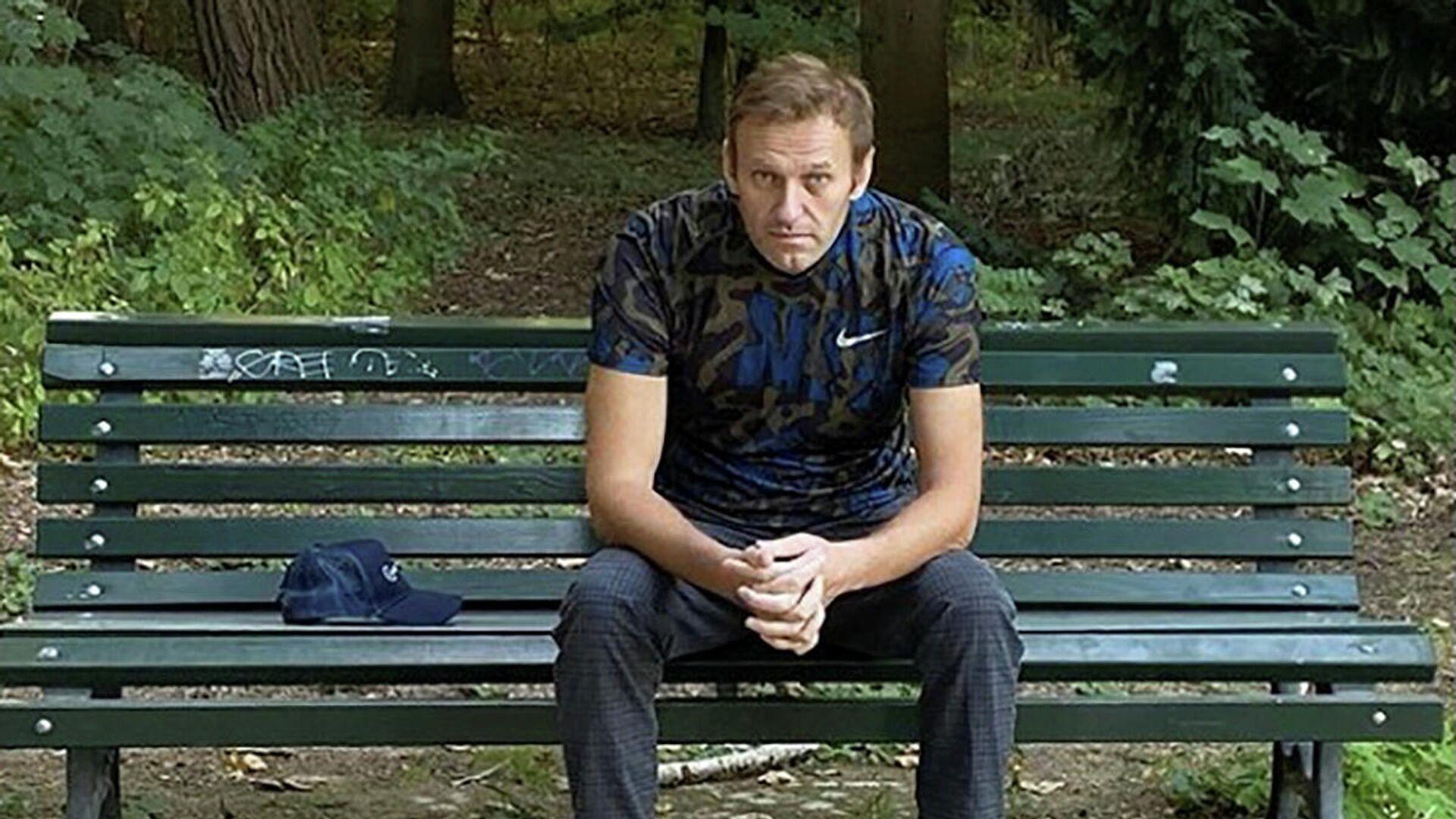 Алексей Навальный в Берлине - РИА Новости, 1920, 05.10.2020