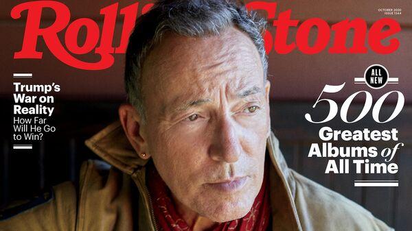 Обложка журнала Rolling Stone за Октябрь 2020