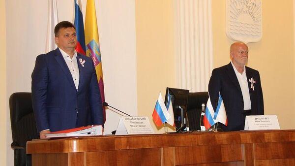 Константин Шимановский и Иван Имгрунт