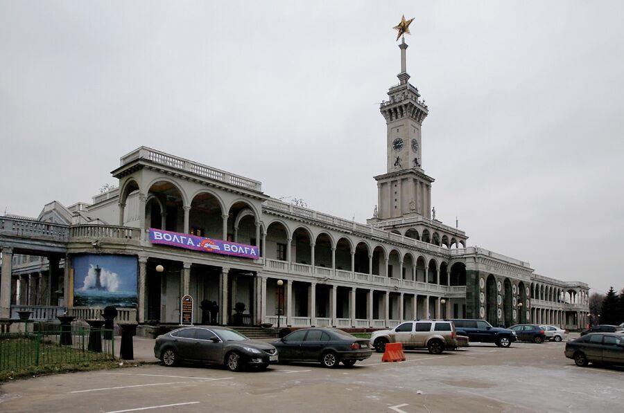 Северный речной вокзал столицы