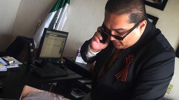 Руководитель международной общественной организации Вечный огонь гражданин Мексики Эдуардо Круз