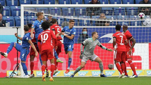 Игровой момент матча Бавария - Хоффенхайм