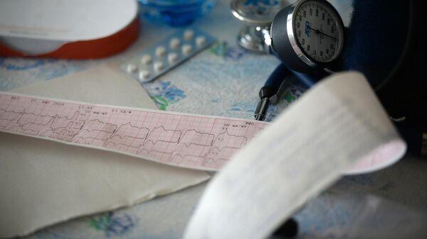 Данные кардиограммы