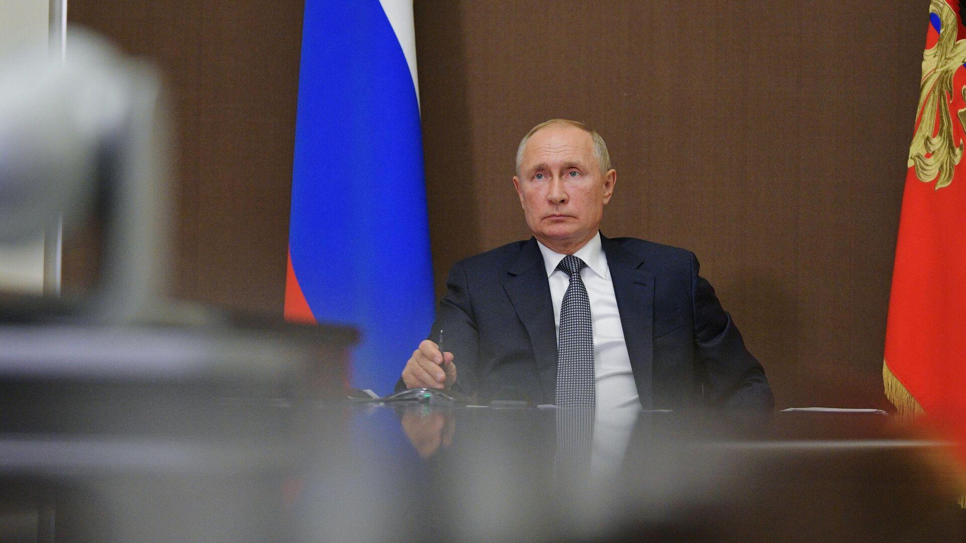 Президент РФ Владимир Путин проводит заседание Госсовета - РИА Новости, 1920, 28.09.2020