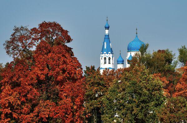 Гатчинский Покровский собор (собор Покрова Пресвятой Богородицы) в Гатчине Ленинградской области