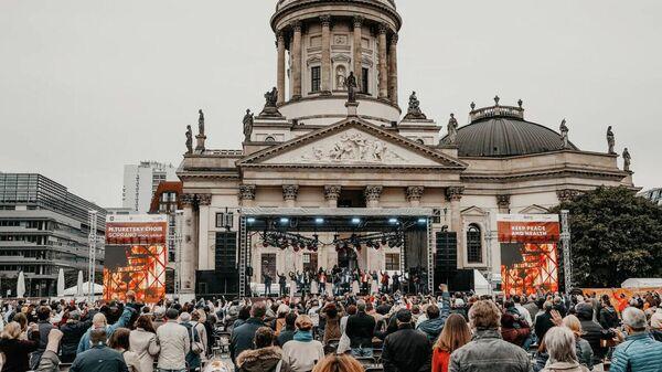 Международный фестиваль Песни Победы в Берлине