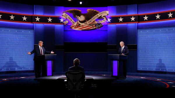 Дебаты Дональда Трампа и Джо Байдена в США