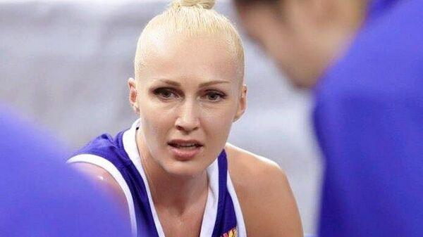 Игрок сборной Белоруссии по баскетболу Елена Левченко