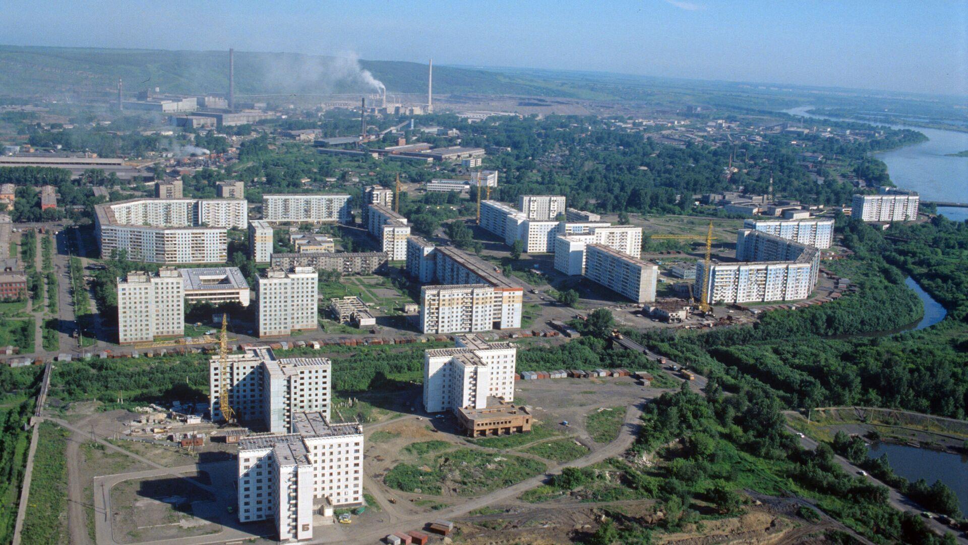 Вид на город Новокузнецк - РИА Новости, 1920, 01.10.2020