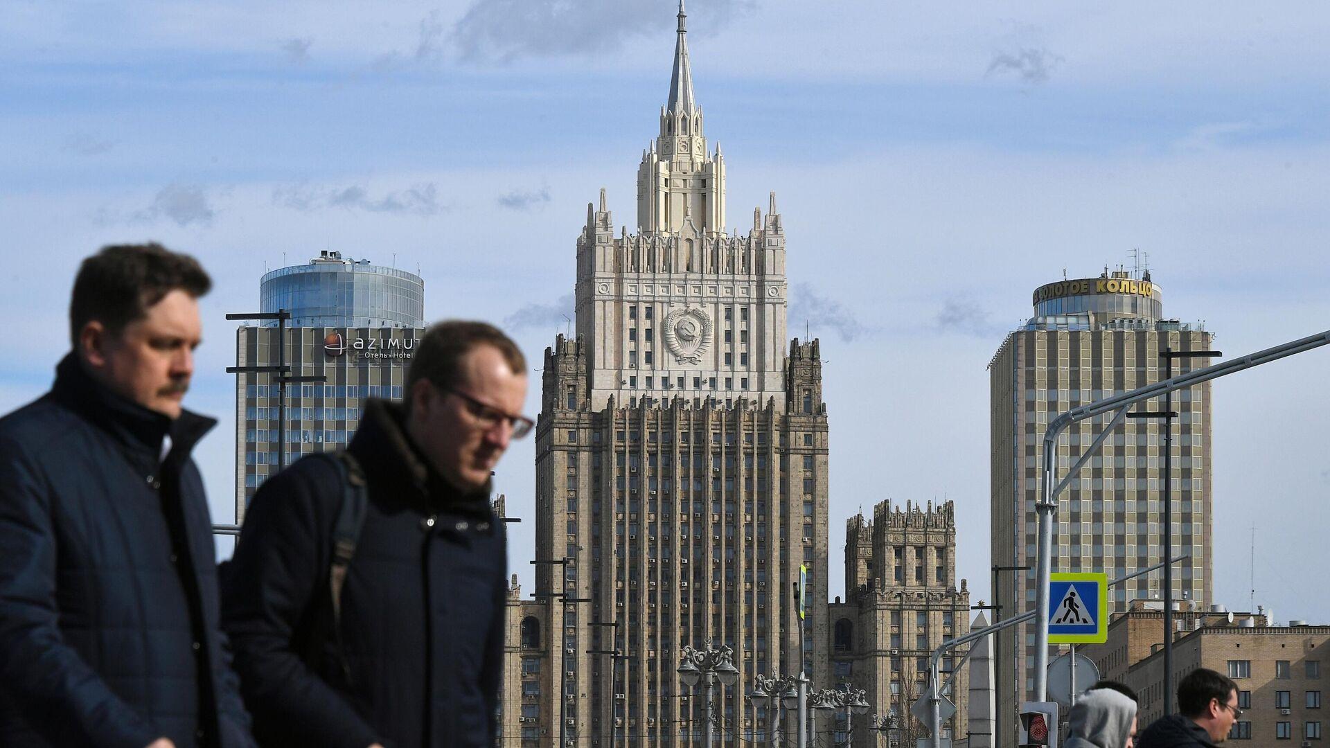 Здание Министерства иностранных дел РФ  - РИА Новости, 1920, 15.10.2020