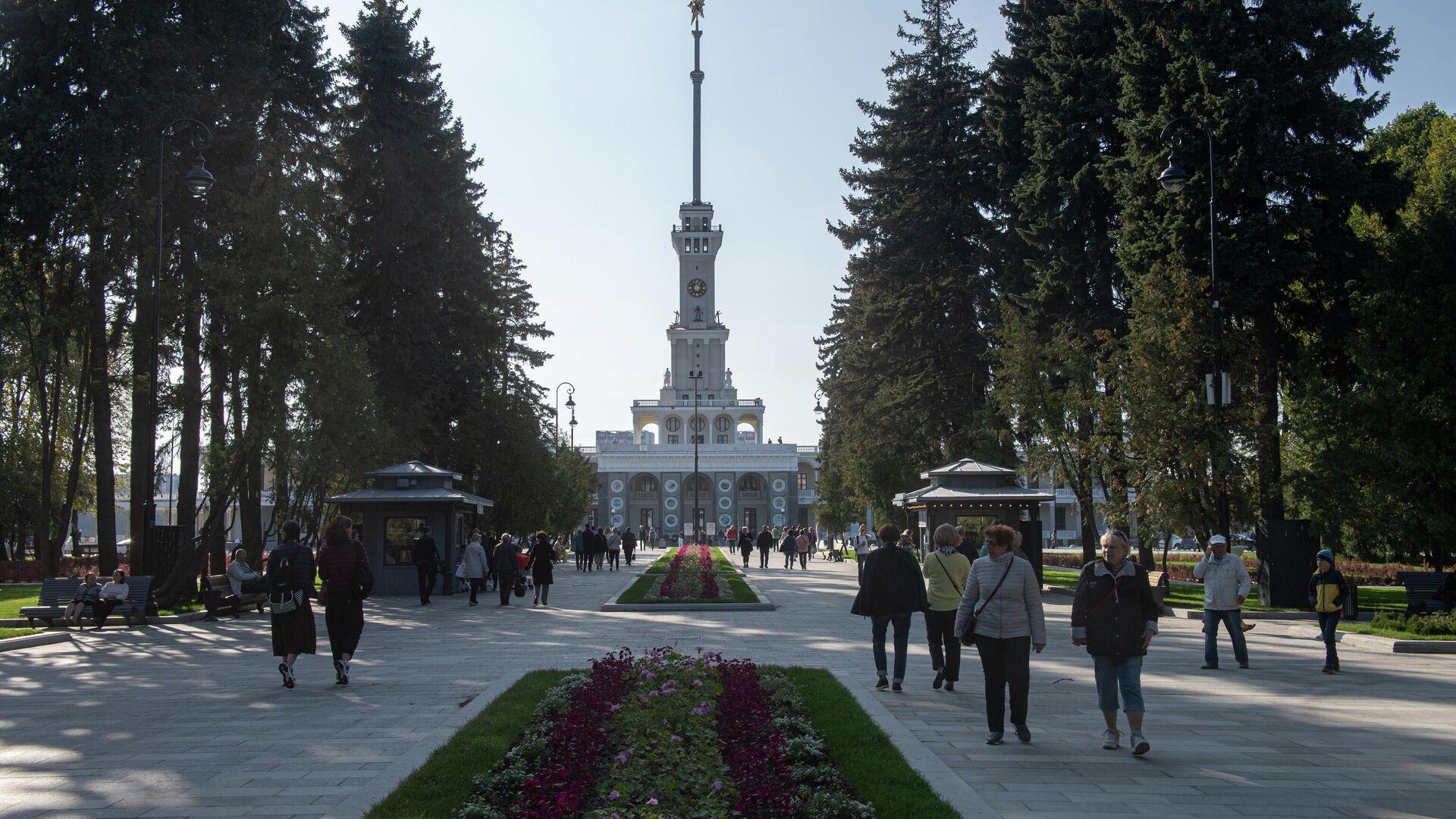 Северный речной вокзал - РИА Новости, 1920, 12.10.2020
