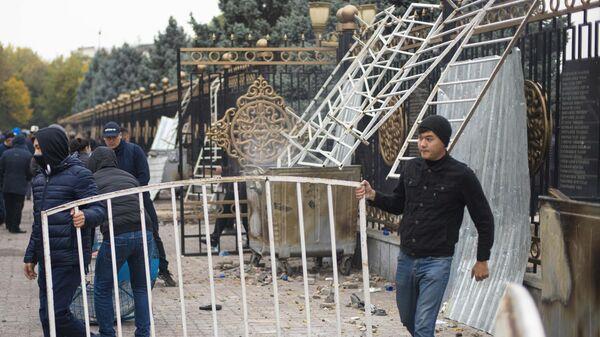 Ситуация в Бишкеке