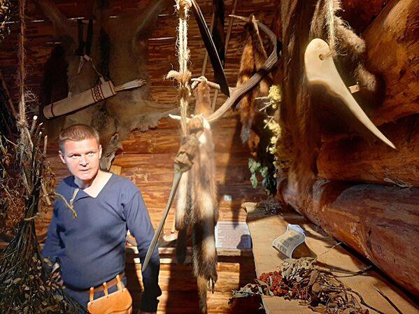 Археологический музей под открытым небом в Беловежской пуще