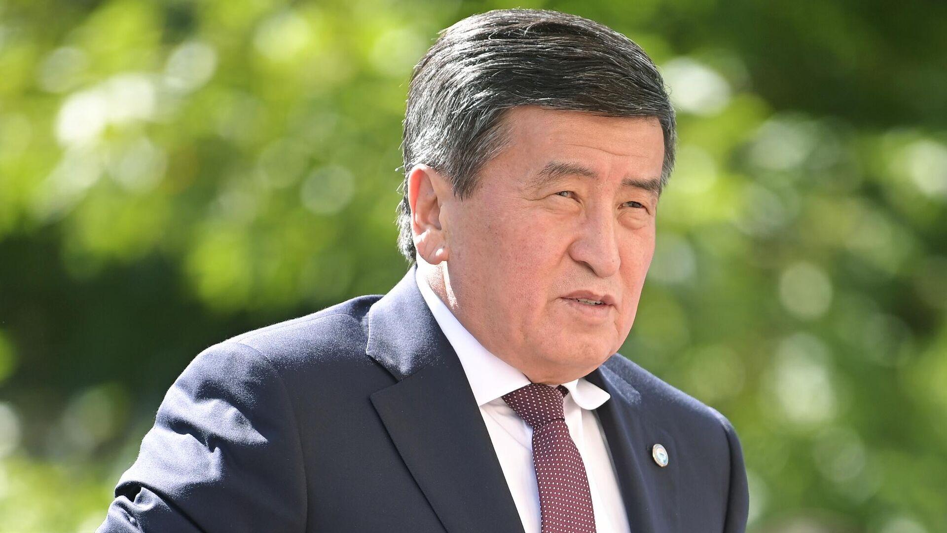 Президент Киргизии Сооронбай Жээнбеков - РИА Новости, 1920, 14.10.2020