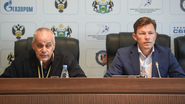 Александр Еслев (слева) и Виктор Майгуров