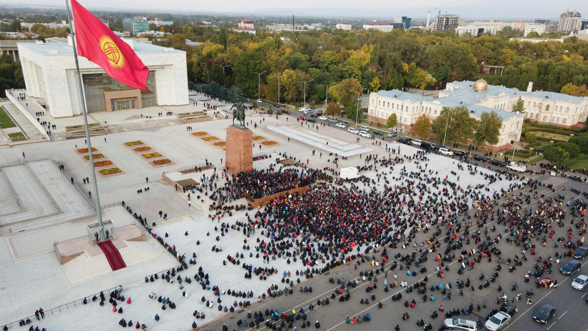 Ситуация в центре Бишкека - РИА Новости, 1920, 14.11.2020